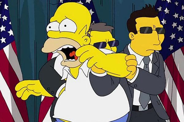 Гомер Симпсон проведет пресс-конференцию